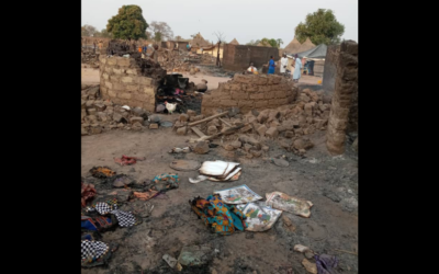 Devastating fire in Tostan Partner Community in Senegal