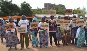 Une forte mobilisation de 114 communautés à la déclaration