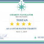 Tostan awarded 4-star rating by Charity Navigator in 2019