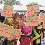 30 communities in southern Senegal declare abandonment of female genital cutting and child marriage, following the Tostan program