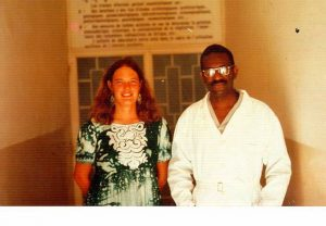 Molly Melching avec Cheikh Anta Diop - 1975