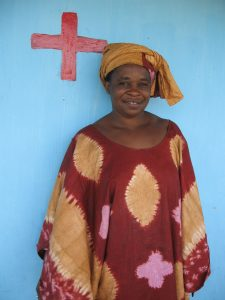 Portrait of Marieme Bamba in Soudiane. Tostan Interview Portraits. Thiès, SN. 25 Jul. 2008
