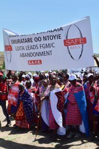 Kenya Maasai declaration Tostan